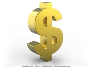 Monetize Your Blog dollar sign