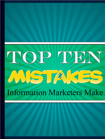 Information Marketers Mistake Number Eight: Relying on Others to Promote Your Product