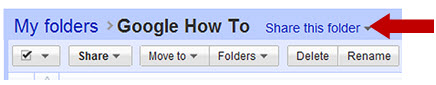 Share and Grant Access to Google Documents