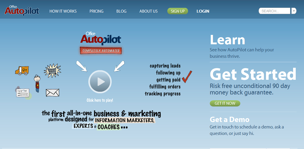 top 10 autoresponders and email marketing toolsoffice autopilot is a tool that adds a layer of sophistication to the standard autoresponder service you can almost \u201cprogram\u201d office autopilot to do
