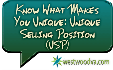 Know What Makes You Unique: Unique Selling Position (USP)