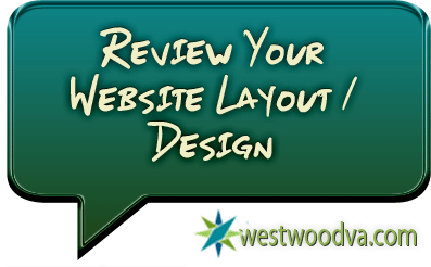 Review Your Website Layout / Design